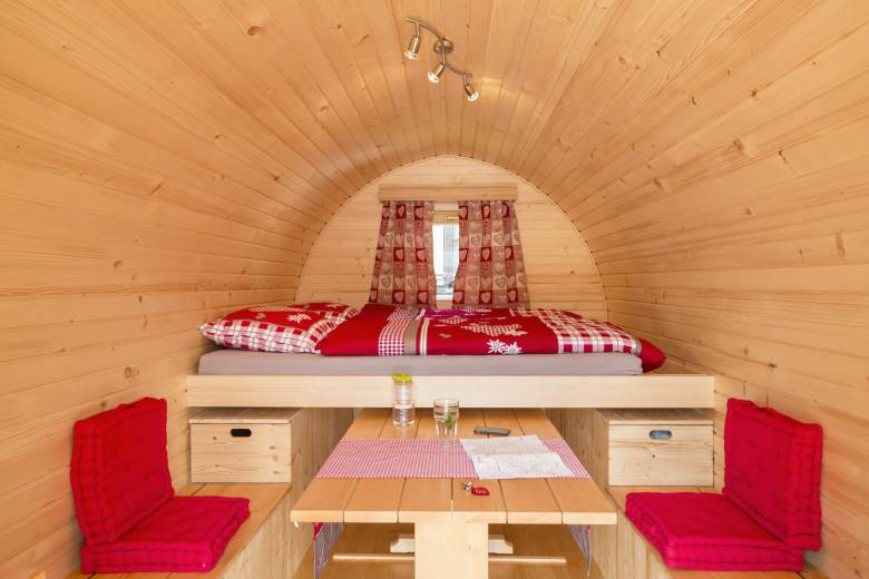 Loveroom at the campsite: The Love Igloo for special moments for two